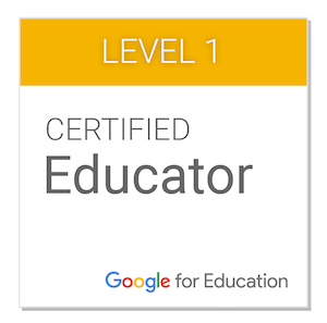 Google for Education Level 1 Certificate